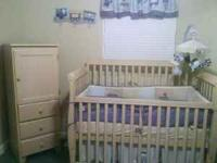 CALL  OR  STACY NEVER USED !!!!!!!!!! Natural Oak Baby