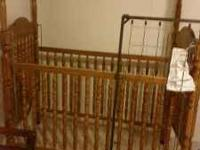 For sale baby crib $ 75.00 if interested call Travis