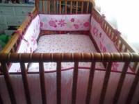 I have a very nice baby crib for sale im moving and i