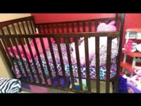 Crib and changing table set does not include mattress