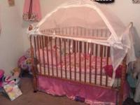 I have a baby crib in excellent condition I'm asking