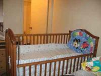 I want to sale a nice Baby Crib (75 $): 90% new, about