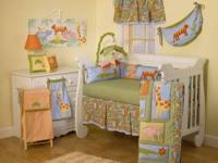 i have a crib bedding set. 8 pc. which has never been