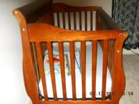 PRICED REDUCED------For Sale: Baby crib with matress