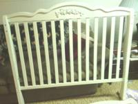 I have a nice Baby crib made by P.J. Kids. It converts