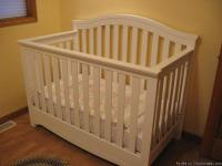 Brand new baby crib for sale.  Grandma bought it
