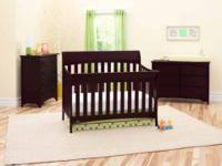 I have for sale a baby crib and new crib mattress it