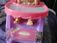 A cute baby doll in good condition. Accessories are