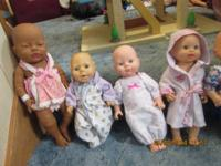Hard body baby dolls for sale and a few soft body ones