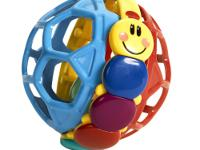 Play, rattle and roll! The colorful Baby Einstein Bendy