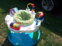 This exersaucer will provide your little one with