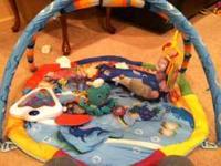 Baby Einstein Ocean Play Mat in excellent used