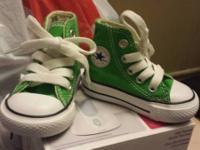 *Baby Converse Size 2  $20 (Never Used) *Enfamil Baby