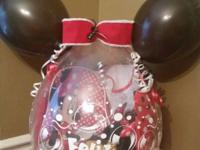 Custom Gifts created inside a large latex Balloon. They