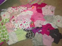 Offering the pictured collection of infant girl Carter