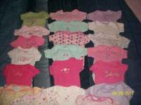 I have a lot of baby girl clothes. Nb/0-3. I am selling