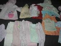 HI i have some baby girl clothes 0/3 months in good