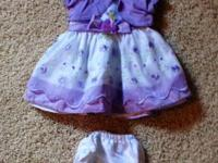 I have a bunch a baby girl clothes for 3-6m. Took