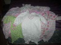 I have some baby girl clothes there is 5 towels 4