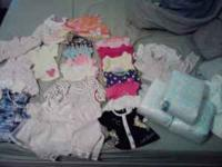 I have some baby girl clothes most of them are newborn