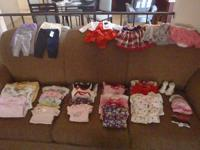 I have baby lady clothing galore! Everything is either