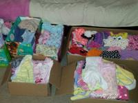 6 boxes full of Baby lady garments every little thing