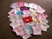 I have 250+ pieces of baby girl clothes sizes nb-12