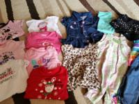 Lot of baby girls' clothes sizes 0 to 18 mo: tons of