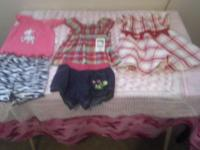 Summer clothes for baby girls.Different sizes.Some