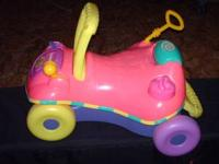 ride on toy in good shape, misc toys are in good