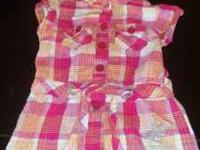 POLO DRESS (SIZE 12MTH) ROCA WEAR OUTFIT (SIZE 3-6)