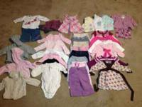I have a winter lot of baby girls' clothing that are