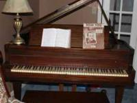 Moving MUST sell!!!! Antique Baby Grand Piano.