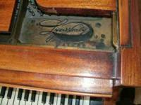 Lyon & Healy Baby Grand Piano. It is in good condition,