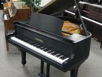 "Very Cute Pearl River 4'8"" Grand Piano Beautiful Ebony"