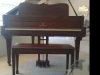 Adam Schaaf Baby Grand Piano, very good condition.