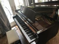 Petrof Baby Grand Piano in mint condition.  High