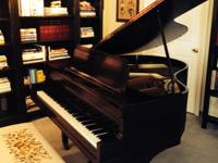 Bush & Gerts (Midgette) Baby Grand Piano. Integrateded