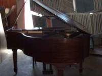 Baby Grand Piano - Howard by Baldwin - ANTIQUE- 1950'S