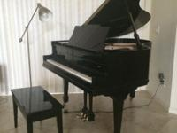 We have a baby grand piano, Brambach, for sale. 4 feet,