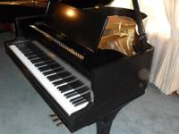 1985 Kimball baby grand piano purchased from Rich?s,