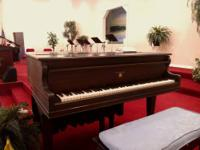 My good friend is selling her 10-year-old baby grand