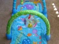 Fisher Price Ocean Wonders Kick & Crawl Gym