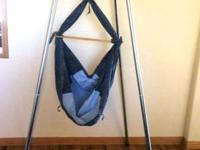 Hammock baby bed gently bounces baby similar to the