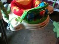 Rainforest jumperoo $20 Boppy pillow with 5 covers $20