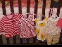 Baby girl clothes ranging from newborn to 3 months!