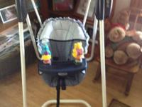 I have a complete size child swing(5.00), infant breast