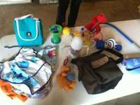 Baby items for sale. $10 takes all! Call  or . Manual