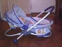 Baby boy bouncer chair (picture) $10, Baby girl winter