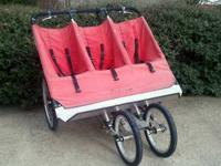Used Baby Jogger - Triple Stroller Lightweight aluminum